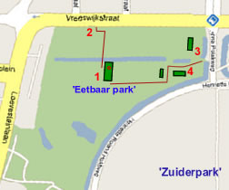 Details Zuiderpark route